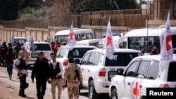 ဆီရီးယား Ghouta အေရွ႕ျခမ္းေဒသ အကူအညီေတြဆိုက္ေရာက္