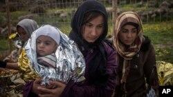 歐洲難民。