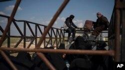 Эвакуация гражданского населения из Багуза, 22 февраля