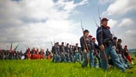 Rikrijimi i betejës së Getisburgut