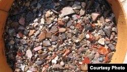 سنگ های باستانی کشف شده در چغاگلان