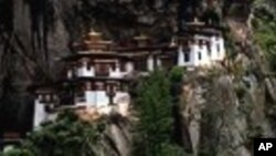 不丹的虎穴寺是著名的旅游景点