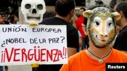 En 2012 el Premio Nobel de la Paz fue entregado a la Unión Europea, lo que provocó una gran polémica internacional.