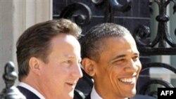 İngiltere Başbakan David Cameron ve Başkan Obama