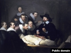 "Medical dissection of human bodies is an ancient practice. ""The Anatomy Lesson of Dr. Nicolaes Tulp"" was painted by Rembrandt in 1632."