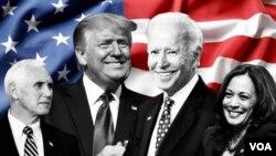 Các ứng cử viên Tổng thống và phó Tổng thống Hoa Kỳ.
