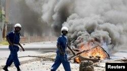Burundi ၿမိဳ႕ေတာ္တြင္း တိုက္ပြဲျပင္းထန္ (ေမ-၂၀၁၅)