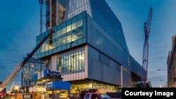 Новое здание музеф Уитни. Сourtesy Whitney Museum of American Art