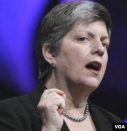 Menteri Keamanan Dalam Negeri AS, Janet Napolitano.
