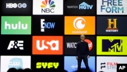 El CEO de Apple, Tim Cook, habla durante el más reciente para desarrolladores, en San José, California.