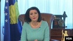 Predsednica Kosova Atifete Jahjaga