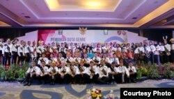 Ajang pemilihan Duta GenRe atau Generasi Berencana untuk mendekatkan remaja pada isu KB. (Foto: Humas BKKBN)
