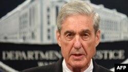 Specijalni tužilac Robert Maler govori o istrazi ruskog miješanja u američke izbore u Sekretarijatu za pravosuđe u Vašingtonu, 29. maja 2019.