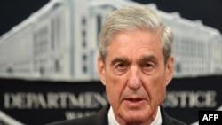 Специальный советник Роберт Мюллер говорит об итогах российского расследования в Министерстве юстиции, Вашингтон, 29 мая 2019 года