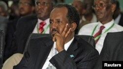 Tân Tổng thống Somalia Hassan Sheikh Mohamud tại Mogadishu
