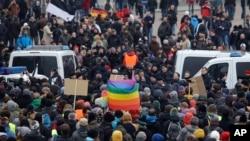 Pawai Anti Islam PEGIDA di Jerman (Foto: dok.)