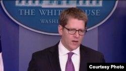 白宫发言人卡尼(白宫视频截图)