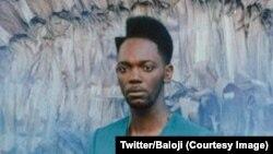 """Le chanteur belge Baloji d'origine congolaise sur la couverture de son deuxième album """"137, avenue Kaniama"""" sorti le 23 mars 2018. (Twitter/Baloji)"""