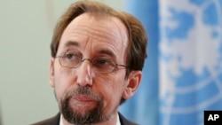 """Zeid Ra'ad al-Hussein, alto comisionado de la ONU para DD.HH. pide investigar """"atrocidades"""" en Venezuela."""