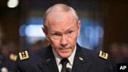 ژنرال مارتین دمپسی رئیس ستاد مشترک نیروهای مسلح ایالات متحده