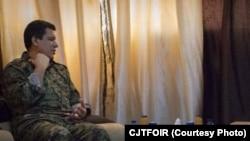 سەرکردەی هێزەکانی سوریای دیموکرات مەزڵوم کۆبانی
