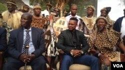 UMnu. Bulelani Lobhengula Khumalo owayemele agcotshwe ukuba yinkosi.