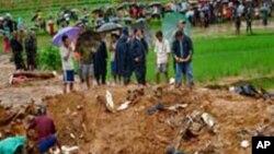 کھٹمنڈو کے قریب شیخاپور میں مسافر بردار طیارے کے حادثے کی جگہ