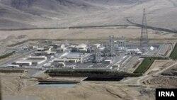 이란의 아락 원자로 시설. (자료사진)