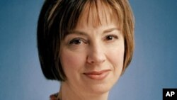 FILE - Michele Dunne is a senior associate at the Carnegie Endowment for International Peace.