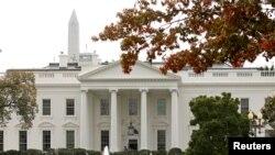 Vue sur la Maison-Blanche, à Washington D.C., le 3 novembre 2016.