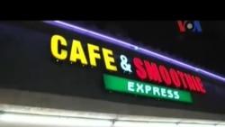 Mengunjungi Cafe dan Smoohtie Express dekat Disneyland