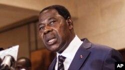 Le président du Bénin, Thomas Boni Yayi, a annoncé qu'il ne se birguera pas un nouveau mandat.