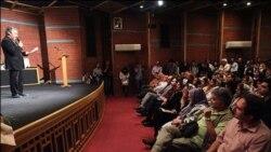 بزرگداشت اکبر رادی، نمایشنامه نویس برجسته ایرانی در خانه هنرمندان برگزار شد
