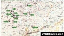 ျမန္မာတပ္အင္အား တိုးခ်ဲ႕ေနသည္႔ေနရာ (Photo- Myanmar Minister of defence office )