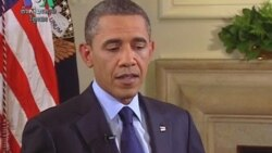 VOA Interview with Obama Focuses on Afghanistan