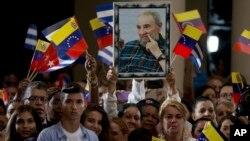 El mandatario venezolano Nicolás Maduro, transmitió su solidaridad al pueblo cubano y pidió preservar el legado emancipador de Fidel Castro.