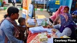 Kegiatan BKKBN di Kampung KB Rawa Buaya, Jakarta Barat (30/8). (Foto: Humas BKKBN)