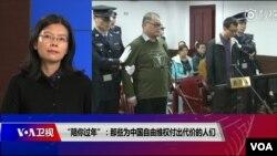 台湾人权工作者李明哲的妻子李净瑜2019年2月5日座客美国之音《时事大家谈》