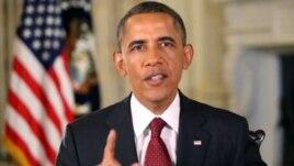 Fjalimi në radio i Presidentit Obama