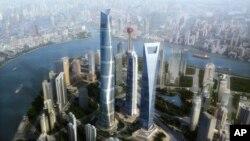 Tòa nhà chọc trời 'vô hình' của Nam Triều Tiên sẽ cao hơn các tòa nhà khác trong khu vực châu Á sau khi hoàn thành vào năm 2014.