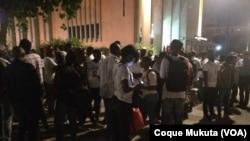 Vigília favor de Nuno Dala, Luanda, Angola