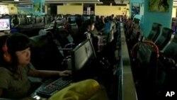 中國經常使用屏蔽方式﹐阻截訊息流通。