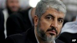 Lãnh tụ nhóm Hamas Khaled Mashaal
