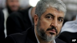 خالد مشعل، رهبر شاخه سیاسی حماس