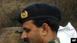 被捕的巴基斯坦陸軍准將阿里汗(資料圖片)