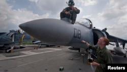 2012年10月美国军人在菲律宾苏比克湾