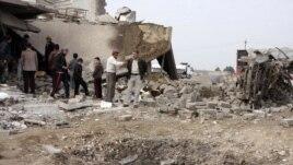 Հարձակումների հետևանքներն Իրաքում (արխիվային լուսանկար)