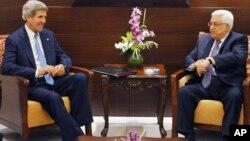 Ngoại trưởng Hoa Kỳ John Kerry hội đàm với Tổng thống Palestine Mahmoud Abbas, 19/7/13