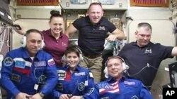 국제우주정거장(ISS)의 우주인들. (자료사진)