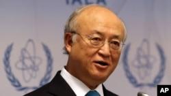 국제원자력기구(IAEA)의 아마노 유키야 사무총장 (자료사진)